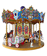 ANCIENT CAROUSEL 12 Seats